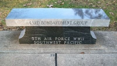 43rd Bombardment Group Memorial image. Click for full size.