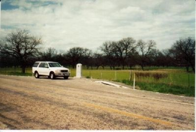 Actual site of Mission San Saba image. Click for full size.