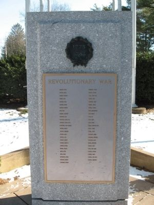 Seymour Revolutionary War Memorial image. Click for full size.