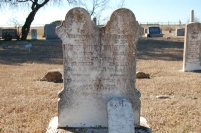 Harriet Ruthie Howard Headstone image. Click for full size.
