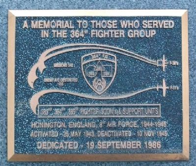 364th Fighter Group Memorial image. Click for full size.
