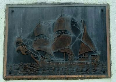 Mayflower Plaque image. Click for full size.