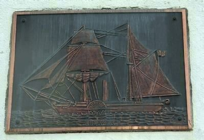 Steam Ship Beaver Plaque image. Click for full size.