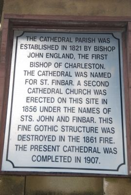 Cathedral of St. John the Baptist Marker image. Click for full size.