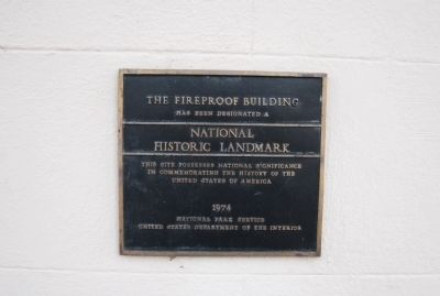 Fireproof Building Marker image. Click for full size.