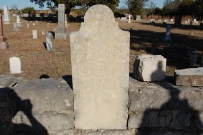 Mary E. Standefer Headstone image. Click for full size.
