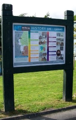 Lanesborough / Béal Átha Liag History 500 - 1900 AD Marker image. Click for full size.
