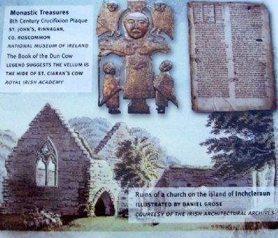 Ancient Ireland Depictions on Marker image. Click for full size.