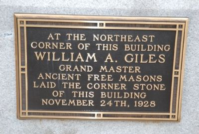 Additional marker for the South Carolina Bank and Trust building. image. Click for full size.