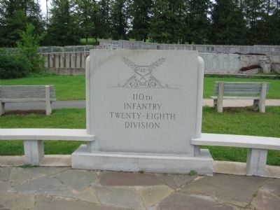 110th Infantry Regiment Memorial image. Click for full size.