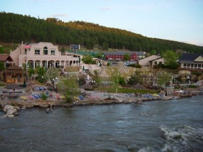 San Juan River and The Springs Resort and Spa. image. Click for full size.