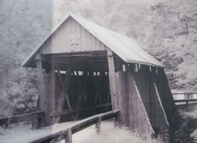 Historic Photograph of Campbell's Covered Bridge image. Click for full size.