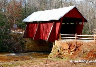 Campbell's Covered Bridge - Northeast Corner image. Click for full size.