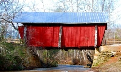 Campbell's Covered Bridge - East Side image. Click for full size.