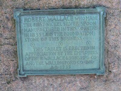 Robert Wallace Marker image. Click for full size.