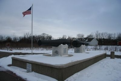 Battle of Brownstown Memorial image. Click for full size.