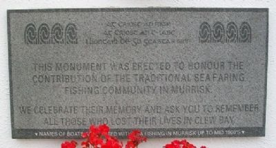 Murrisk Fisherman's Monument Marker image. Click for full size.
