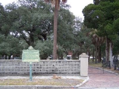 Oaklawn Cemetery Marker seen along North Morgan Street, Tampa image. Click for full size.