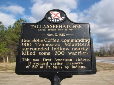 Tallasseehatchee Marker image. Click for full size.