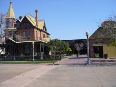 Rosson House and Carriage House image. Click for full size.