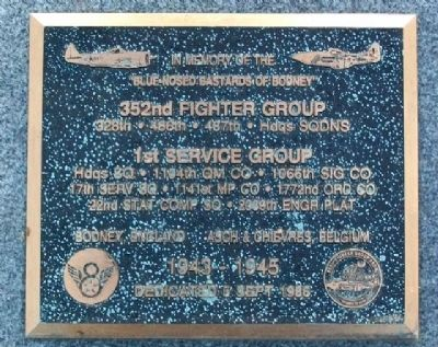 352nd Fighter Group Memorial image. Click for full size.