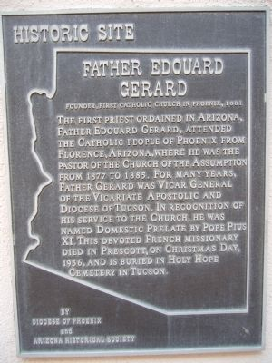 Father Edouard Gerard Marker image. Click for full size.