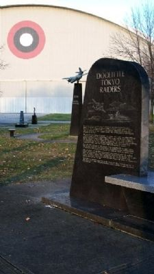 Doolittle Tokyo Raiders Memorial image. Click for full size.