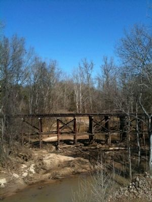 Old Railroad Trestle image. Click for full size.