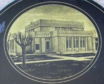 Image of the Building Desplayed on Marker image. Click for full size.