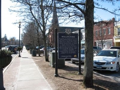 Wallingford Marker image. Click for full size.