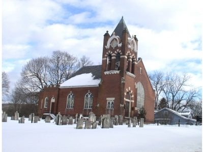 Asbury Methodist Church and Cemetery. image. Click for full size.
