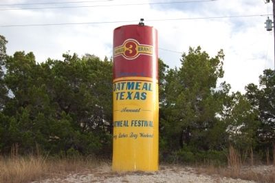 Oatmeal Water Tower image. Click for full size.