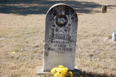 William H. Reavis Headstone image. Click for full size.
