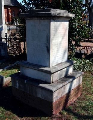 Ann Elizabeth Randolph Monument -<br>Erected by the Women of the Congregation image. Click for full size.
