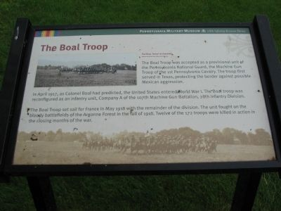 The Boal Troop Marker image. Click for full size.