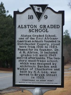 Alston Graded School side image. Click for full size.