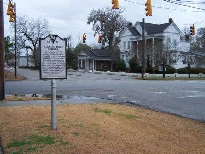 Marker seen at West 1st N Street and North Cedar Street intersection image. Click for full size.
