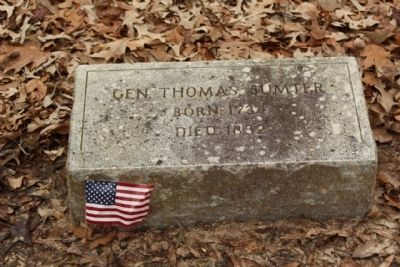 Gen.Thomas Sumter image. Click for full size.