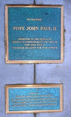 His Holiness John Paul II Marker image. Click for full size.