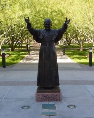His Holiness John Paul II Sculpture image. Click for full size.