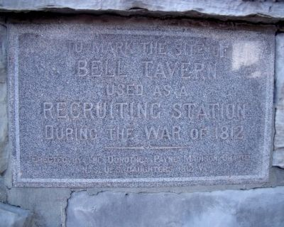 Bell Tavern Marker image. Click for full size.