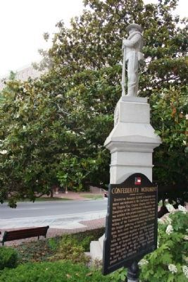 Confederate Monument & Marker image. Click for full size.
