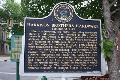Harrison Brothers Hardware Marker image. Click for full size.