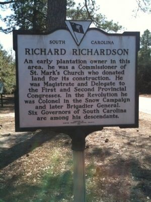 Richard Richardson Marker image. Click for full size.