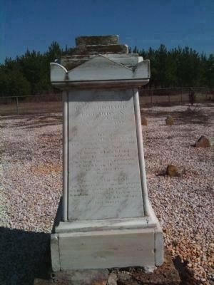 Richard Richardson Grave Marker image. Click for full size.