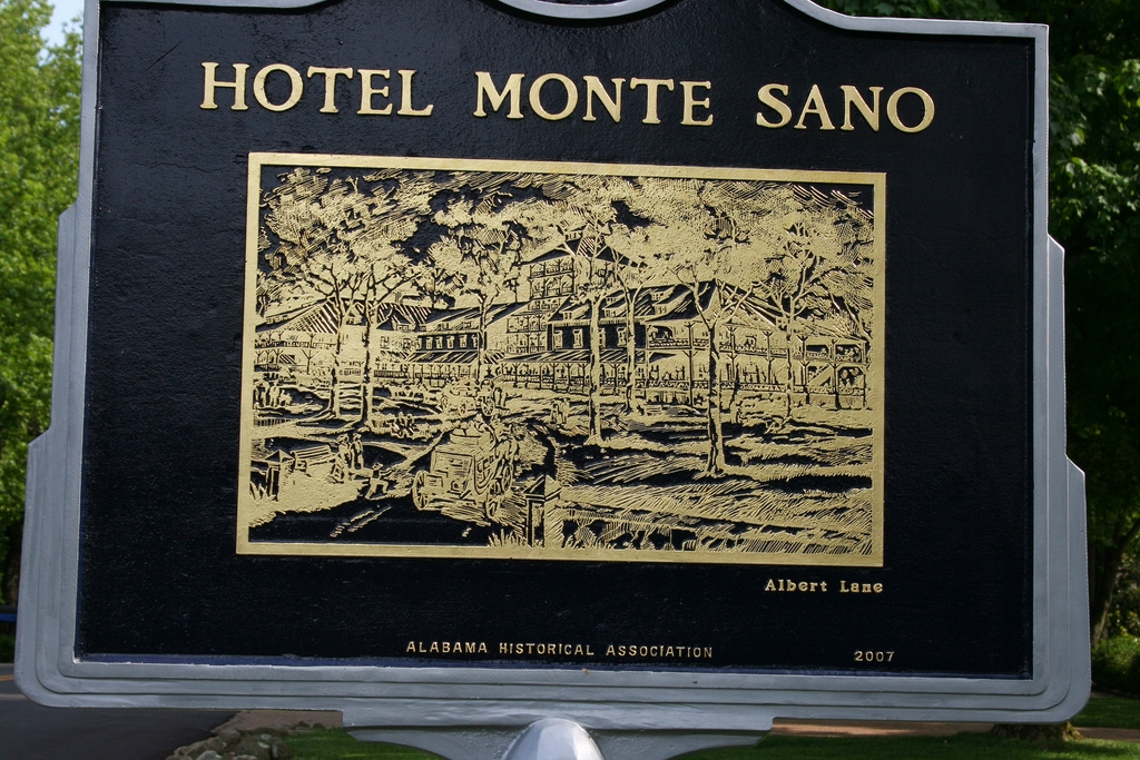 Side B: Image of the Hotel Monte Sano by Albert Lane