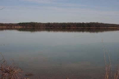 The Joseph Wheeler lake is known for a good fishing destination. image. Click for full size.