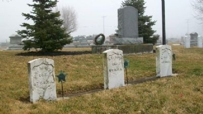 United States Colored Troops Grave Markers image. Click for full size.