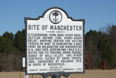 Site of Manchester Marker image. Click for full size.