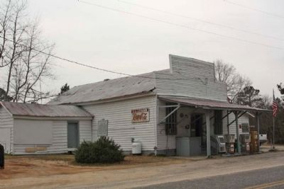 Lenoir Store and Marker image. Click for full size.